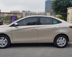 Bán lại Toyota Vios 2019 số tự động, bảng E, màu vàng cát giá 487 triệu tại Tp.HCM