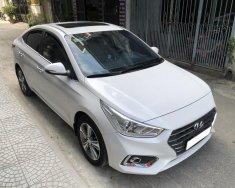 Gia đình cần bán xe Hyundai Accent 2019 số tự động, bản full đặc biệt, màu trắng giá 518 triệu tại Tp.HCM