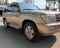 Tôi cần bán Toyota Land Cruiser 2004, số sàn, Bản full xăng, màu xám giá 598 triệu tại Tp.HCM