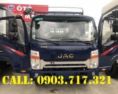 Công ty bán xe tải Jac 6T5, xe tải Jac N650 Plus thùng bạt dài 6m2 máy Cummin giá tốt giá 630 triệu tại Bình Dương