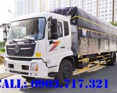 Xe tải DongFeng 8 tấn Euro 5 B180 Hoàng Huy nhập khẩu thùng bạt 9m5 giá 950 triệu tại Bình Dương