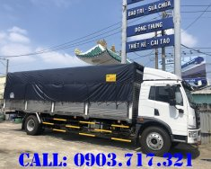 Bán xe tải Faw 8T7 thùng dài 8m3 động cơ Weichai mạnh 165HP giá nhà máy giá 830 triệu tại Bình Dương