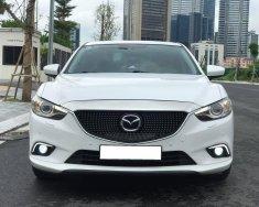 Nhà cần bán ô tô Mazda 6 2.5 2017, màu trắng giá 679 triệu tại Tp.HCM