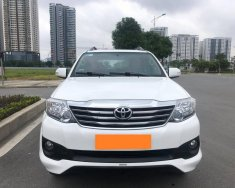 Xe gia đình cần bán Toyota Fortuner Sportivo 2016, số tự động, máy xăng, màu trắng giá 715 triệu tại Tp.HCM