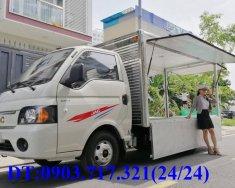 Xe tải Jac 1t5 thùng kín cánh dơi. Xe tải Jac 1T5 thùng bán hàng lưu động giao ngay giá 355 triệu tại Bình Dương