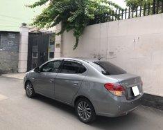 Tôi cần bán Mitsubishi Attrage đời 2018, số sàn, xe nhập khẩu Thái Lan, màu xám mới tinh giá 318 triệu tại Tp.HCM