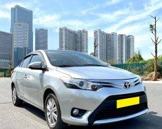 Mình cần bán Toyota Vios 2017, tự động, dòng G, màu bạc giá 429 triệu tại Tp.HCM