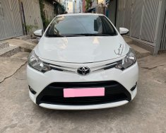 Nhà cần bán ô tô Toyota Vios E 2018, màu trắng giá 383 triệu tại Tp.HCM