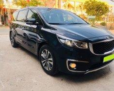 Gia đình bán Kia Sedona 2016, tự động Full, máy xăng, màu đen giá 756 triệu tại Tp.HCM