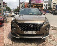 Bán Hyundai Santa Fe 2.4L xăng đặc biệt HTRAC 2019, màu nâu giá 1 tỷ 30 tr tại Hà Nội
