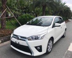 Bán xe Toyota Yaris 1.3G 2015, màu trắng giá 495 triệu tại Hà Nội