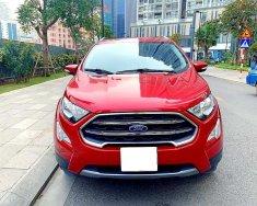 Tôi cần bán Ford EcoSport đời 2019, số tự động, bản Titanium, màu đỏ giá 583 triệu tại Tp.HCM
