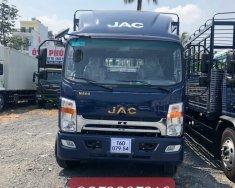 Xe tải JAC N800 thung bạt INOX 8 tấn thùng dài 7M6 giá 730 triệu tại Tp.HCM