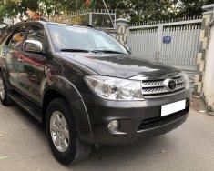 Nhà cần bán Toyota Fortuner 2011, tự động, máy xăng, hai cầu, màu xám chì giá 422 triệu tại Tp.HCM