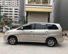 Gia đình bán xe Toyota Innova 2.0E màu vàng, sx 2016, chính chủ từ đầu giá 385 triệu tại Hà Nội