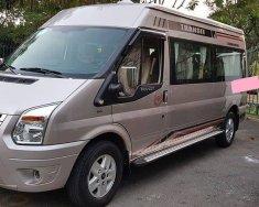 Nhà cần bán Ford Transit 2014, số sàn, máy dầu, luxury, bản Full, màu xám giá 356 triệu tại Tp.HCM