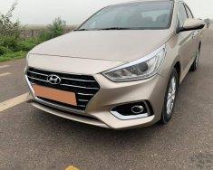 Mình cần bán Hyundai Accent 2019, số sàn, bản Full, màu vàng cát giá 398 triệu tại Tp.HCM