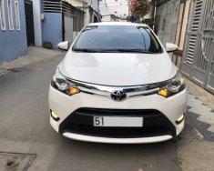 Cần bán xe Vios 2018, bản G, số tự động, màu trắng còn mới tinh giá 439 triệu tại Tp.HCM