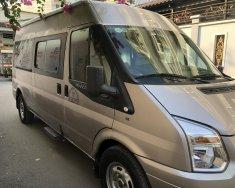 Cần bán xe Ford Transit van 6 chỗ 900kg 2014, số sàn, máy dầu, màu bạc giá 345 triệu tại Tp.HCM