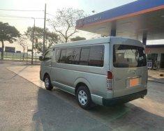 Tôi cần bán Toyota Hiace 2011, số sàn, máy dầu, 16 chỗ, màu xám giá 362 triệu tại Tp.HCM