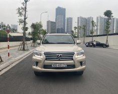 Bán xe Lexus LX 570 2012, màu vàng cát, siêu mới giá 3 tỷ 680 tr tại Hà Nội