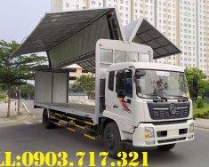 Xe tải Dongfeng thùng kín cánh dơi. Bán xe tải Dongfeng B180 thùng kín cánh dơi giá 1 tỷ 80 tr tại BR-Vũng Tàu