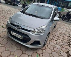 Bán ô tô Hyundai Grand i10 đời 2015, màu bạc, nhập khẩu chính hãng, số sàn giá 239 triệu tại Hà Nội