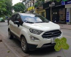 Trắng đón nắng hè - Ford EcoSport Titanium 1.5L AT 2018 giá 555 triệu tại Hà Nội