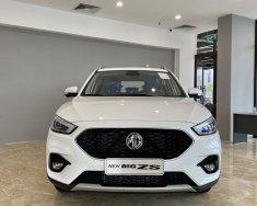 Bán MG ZS ZS 1.5 LUX+ đời 2021, màu trắng, nhập khẩu nguyên chiếc giá 569 triệu tại Thái Nguyên