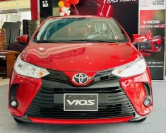 Bán Toyota Vios E năm 2021, màu đỏ giá cạnh tranh giá 478 triệu tại Tp.HCM