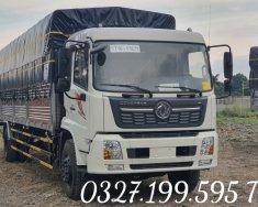 Xe tải nhập khẩu xịn xò DONGFENG HOÀNG HUY THÙNG BẠT INOX 9 TẤN 1 giá 600 triệu tại Đồng Nai