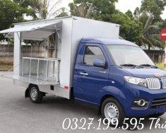 Phân phối xe tải SRM thùng kín cánh dơi 900kg, giao ngay giá 272 triệu tại Đồng Nai