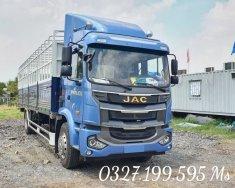 Bán xe tải Jac a5 thùng bạt 9t1 dài 8m2 đời 2021, hỗ trợ vay cao giá 650 triệu tại Đồng Nai