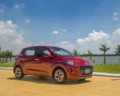 Cần bán xe Hyundai Grand i10 AT sản xuất 2021, màu đỏ, 345tr giá 345 triệu tại Gia Lai