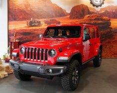 Cần bán xe Jeep Wrangler Rubicon 4 cửa màu đỏ, giao xe Toàn Quốc giá 3 tỷ 688 tr tại Tp.HCM