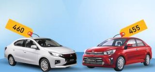 Infographic: Lựa sedan giá rẻ, chọn Attrage hay Soluto?