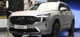 Hyundai Santa Fe 2021 lộ diện hoàn toàn tại quê nhà