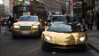 """Xe hơi """"mặc áo vàng"""" của những đại gia Việt"""