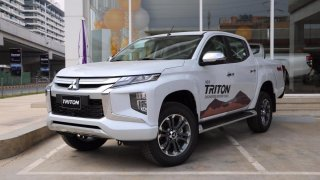Mitsubishi Triton 2018 - Pickup Nhật mang lại cảm giác lái phấn khích