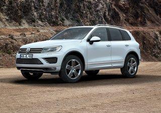 Bán ô tô Volkswagen Touareg GP sản xuất 2016, màu trắng, nhập khẩu nguyên chiếc