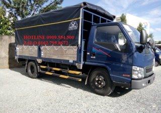 Bán gấp xe tải IZ49 máy Isuzu 2t4, trả góp 100%
