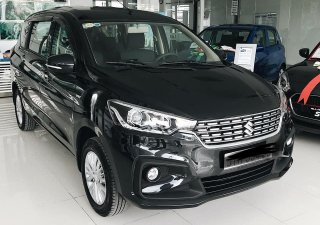 Bán Suzuki Ertiga 2019 2019, màu đen, có xe giao ngay tại Lạng Sơn, Cao Bằng 0919286820