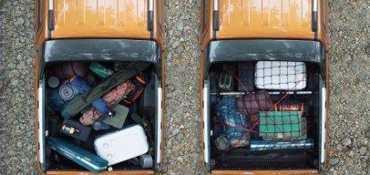 Cách sắp xếp hàng hóa hợp lí trên thùng xe bán tải