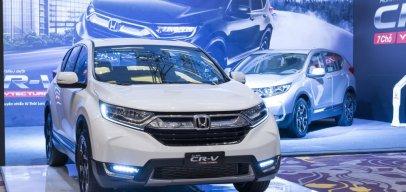 Bao nhiêu xe Honda CR-V đã đến tay khách hàng Việt trong tháng 3/2018?