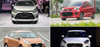 Đọ vũ khí của Toyota Wigo, Grand i10, Morning hay Swift