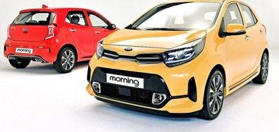 Hot: Kia Morning 2021 sắp nhập kho đại lý Việt