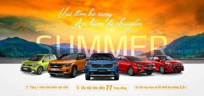 Bảng giá và ưu đãi xe ô tô Kia tháng 5/2021