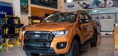 Ford Ranger bất bại trên đường đua doanh số bán tải tháng 4/2021