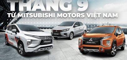 Vợt khách mùa dịch, Mitsubishi tung ưu đãi 'khủng' trong tháng 9
